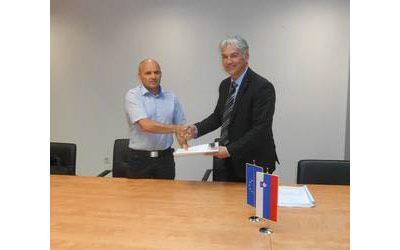 Conclusion of the contract for development and maintenance of application software for the e-Internal audit project